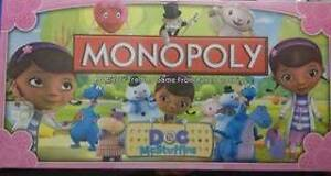 DOC MC STUFFINS MONOPOLY GAME BRAND NEW San Remo Wyong Area Preview