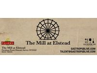 THE MILL AT ELSTEAD | LIVE EVENTS | 2017