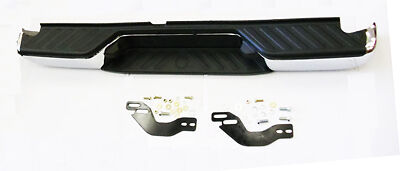 Fits Nissan Navara D40 Rear Chrome Plated Bumper With Brackets 5/05>ON *SPECIAL*