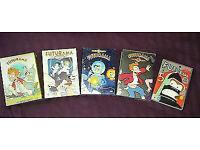Futurama Season 1-5 dvd box sets