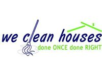looking for house keeping and cleaning work i have a cleaning business and trsutworthy cleaners