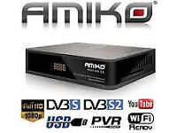 AMIKO COMBO VM CABLE BOX WD 12 MONTH GIFT SKYBOX MAG BOX HD OVER BOX