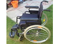 Brand new unused Invacare selfpropelled wheel chair.