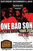 One Bad Son - The Oak - Saturday, December 5 - The Lazys