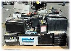Free Pickup Any Dead Car/truck/ Tractor Batteries! Will pay cash