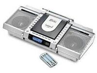 Goodmans GPS280 Portable CD Player with DAB/FM Tuner - Silver