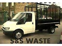 S&S WASTE tyne n wear rubbish removals house garage shed garden clearances soil rubble