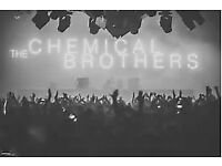 2 tickets for chemical brothers dj set at warehouse project on saturday 9th december