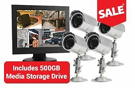 Spyborg Complete Video Surveillance Kit - Ready to Install