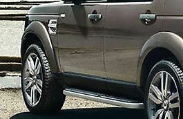 Landrover Discovery 4 Genuine Fixed side steps Brand New still boxed