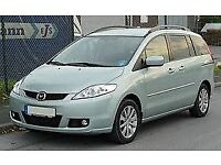 Mazda 5 / 6 Wanted, 7 seater