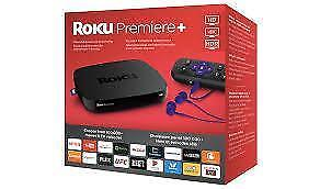 Roku Premiere + - HD and 4K UHD Streaming Media Player brand new sealed.