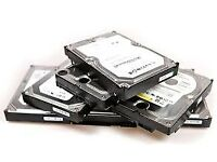 HARD DISK DRIVES STORAGE DISK FOR COMPUTER AND LAPTOPS JOBLOT WHOLESALE