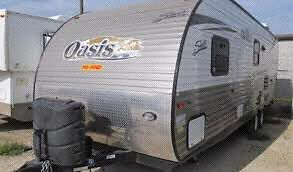 Roulotte Oasis shasta 25bh