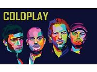 2X Unreserved seating/ standing tickets for coldplay in cardiff 11/07