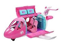 Barbie airplane