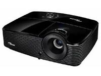 Projector for laptop/ps4/Xbox - Optoma ds330 (boxed) Free soundbar.