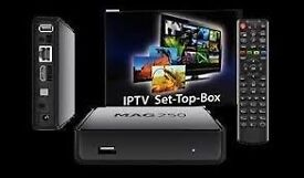 Mag 250 IPTV With Twelve Months Subscription