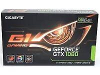 GTX 1080 G1 gaming, 8GB GDDR5X memory