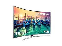 55'' SAMSUNG CURVED SMART 4K ULTRA HD LED TV. FREEVIEW HD. HDR. FREE DELIVERY/SETUP