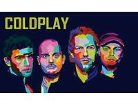 Coldplay Tickets Seated x 2