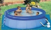 10x30 Blow up Pool