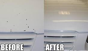 Paint chip repair (Calgary)