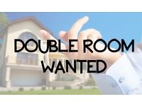 Double room or one bed flat WANTED asap