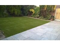 fast and reliable garden and paving experts fencing turfing power washing flagging walls FREE QUOTES