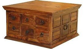 coffee table/ storage trunk