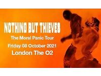 2 Nothing but Thieves tickets Friday 8 October, O2 London STANDING