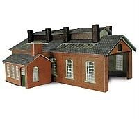 METCALFE CARD KIT-PN113-2 TRACK ENGINE SHED-N GAUGE-BRAND NEW-LOW PRICE!!!