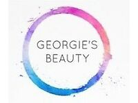 GEORGIES BEAUTY - Mobile beauty service 10% off all beauty treatments