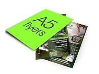 A5 Flyers Printed Double-Sided only £59.95