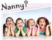 Experienced Nanny Services (nights)