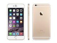 iPhone 6 gold 64gb £160
