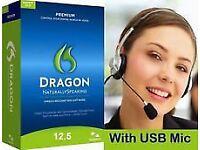 Dragon naturallyspeaking premium 12 headset
