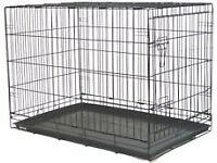 Large Folding Single door dog crate