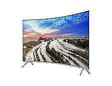 Brand new 4K HDR 55inch Curved Smart TV (Samsung series 8 MU8000)