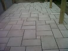 30m2 of grey mix and match delivered in Northern Ireland