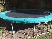 JUMPKING 14 foot (4.25 metres) trampoline