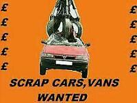Cars wanted not 4 cash 3 collection only