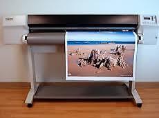 "Large Printer 54"" Wide-Archival-UV w/2 spare printers 29 inks"