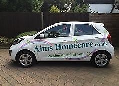 Care Assistant Required - Pay Rate from £8.50 until £10.00 + Car & Fuel!