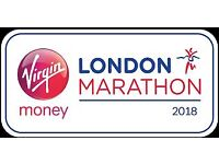 London Marathon 2018 places available - Run for a small charity & make a BIG difference!
