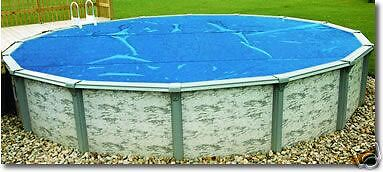 28' Honest Solar Pool Cover AboveGround Solar Blanket Cheap Thermal Bubbles