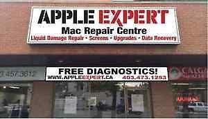 Macbook repair Center, Liquid Damage.Free Estimate Same Day repair 6 Months warranty