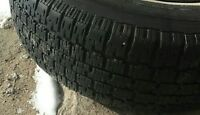4 Nordic Trac winter tires on rims
