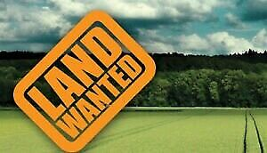 Vacant land wanted