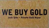Private Gold Buyer City Wide Pickup